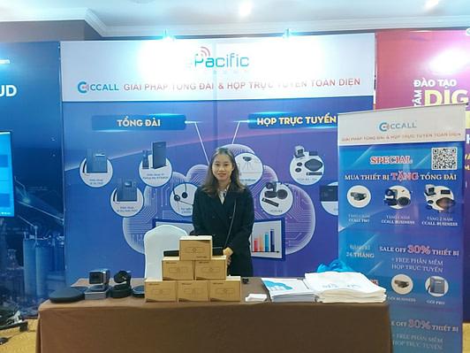 Gian hàng ePacific Telecom tại Internet Day 2020