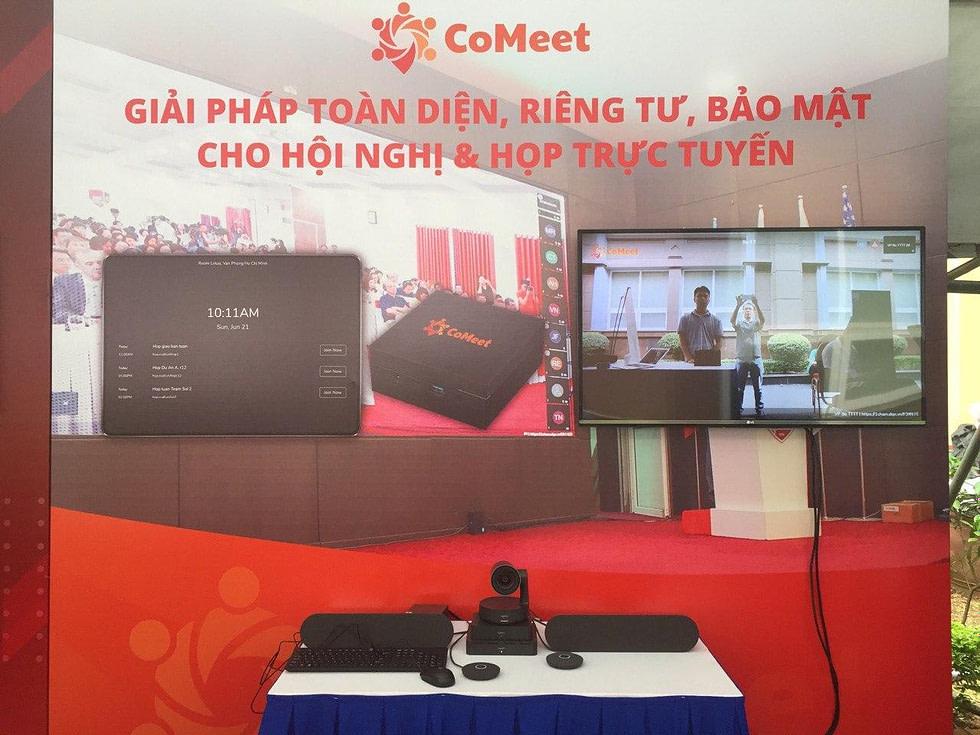 Gian hàng triển lãm của CoMeet
